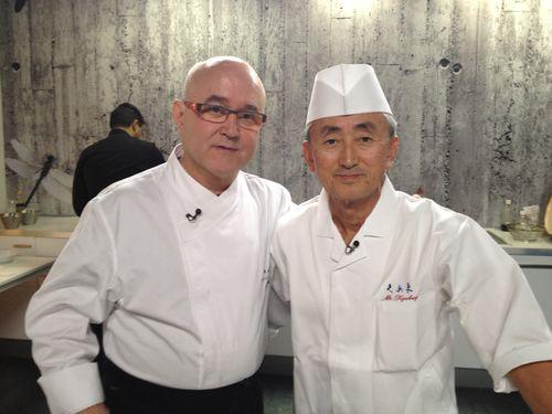 Ricardo Sanz y Yosuke Imada