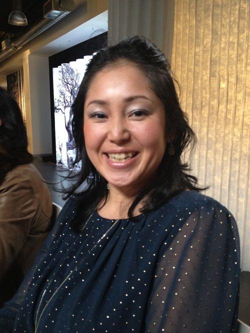 La risueña Miyuki Miura, profesora de cocina japonesa en España