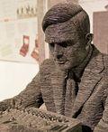 Turing en Bletchley Park. Autor: Antoine Taveneaux
