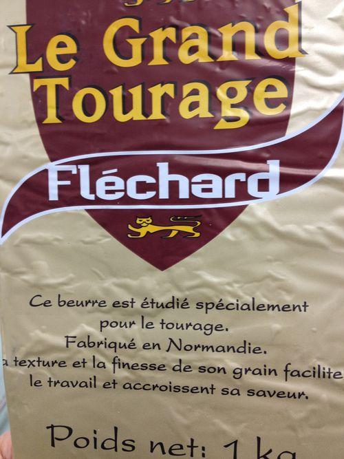Mantequilla francesas empleada para elaborar las trenzas en el obrador de Huesca con destino Mercadona