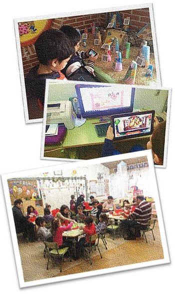 """Estos días hemos disfrutado en clase mucho y hemos utilizado varias aplicaciones digitales para trabajar """"la Navidad"""" como manifestación cultural de nuestro entorno."""
