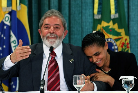 Lula y Marina