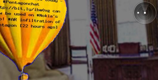 White House & Pentagon AR infiltration de Sander Veenhof