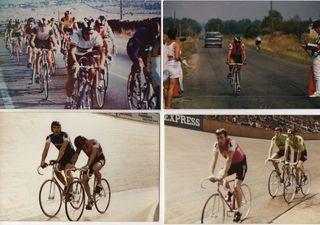 Algunos de los logros ciclistas de Perucha.