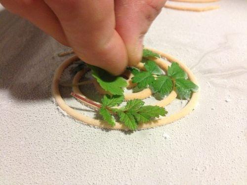 Espiral de mojo picón helada, ideal para aliñar ensaladas