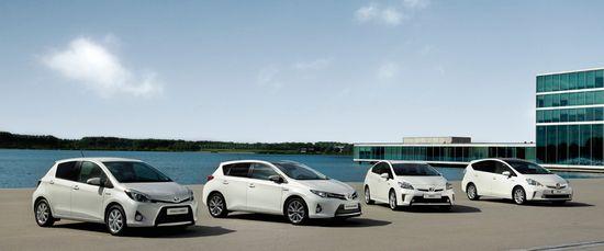 Toyota gama híbrida