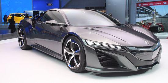 Acura NSX Concept / Newspress