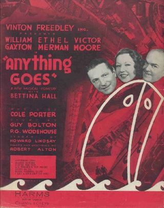 Anything Goes, 1934
