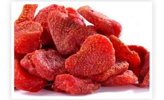 Fresas secas