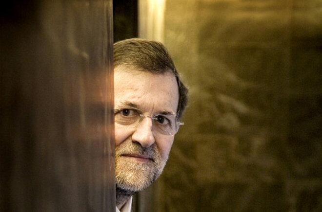 Mariano Rajoy, ¿escondido?