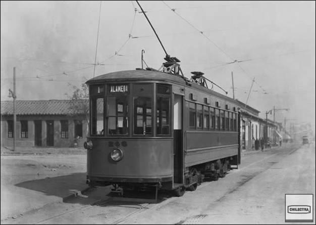 Primer tranvía en Cuba