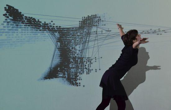Obra producida por Edith-Russ-Haus en 2012 - Soma Mapping 2 de Jia Hua-Zhan