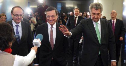 Mario Draghi, en el Congreso