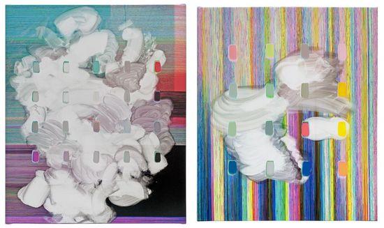 Serie Semiborrados de Enrique Radigales