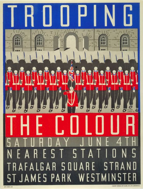 Trooping the Colour, by Margaret Calkin James, 1932