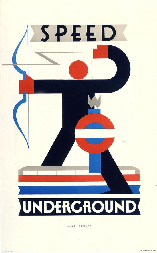Speed Underground, by Alan Rogers, 1930