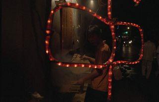 Barbacoa en una calle del viejo Pekín. (J.R.)