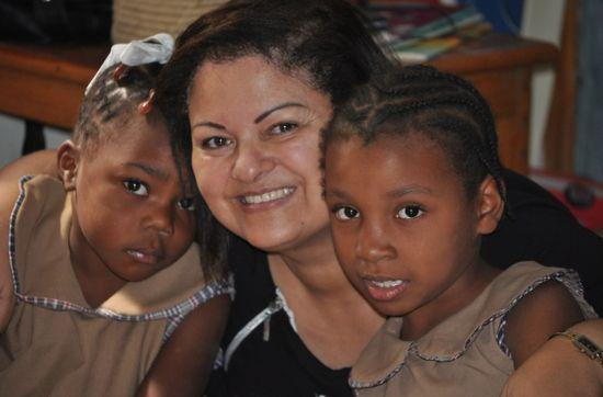 Trabajando en Haiti
