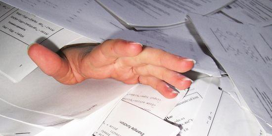 El caos lleva a menudo de la mano a los procrastinadores