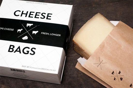 Bolsas conservar queso