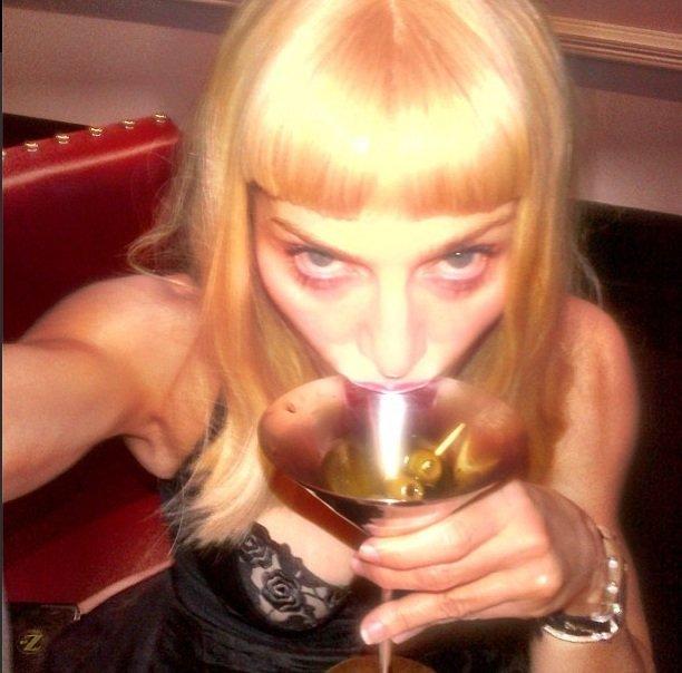 Madonna autoretrato