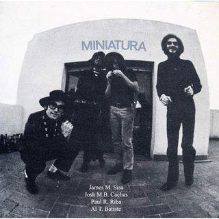 Portada de Miniatura - con Pau Riba, Cachas y Albert Batiste