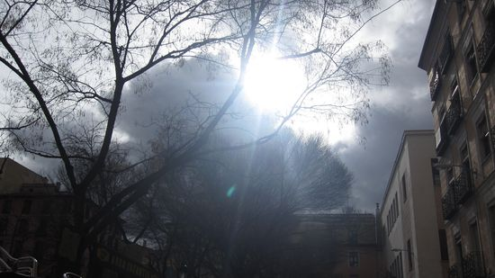 Nubes y claros - foto Pepita Galbany