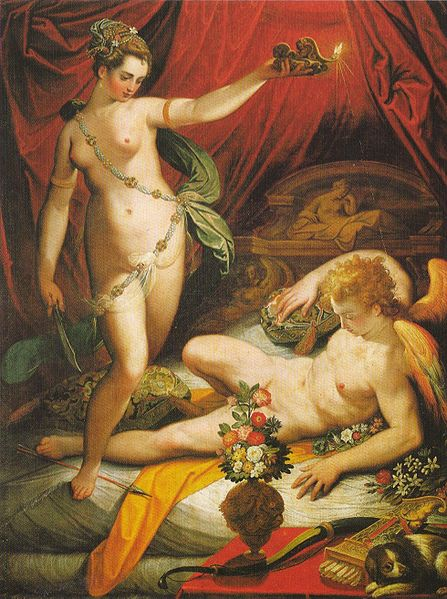 447px-Jacopo_Zucchi_-_Amor_and_Psyche