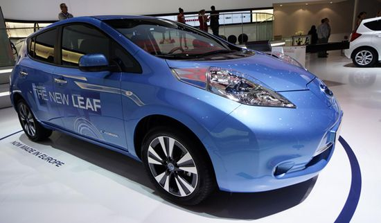 Nissan Leaf 2013 | Newspress
