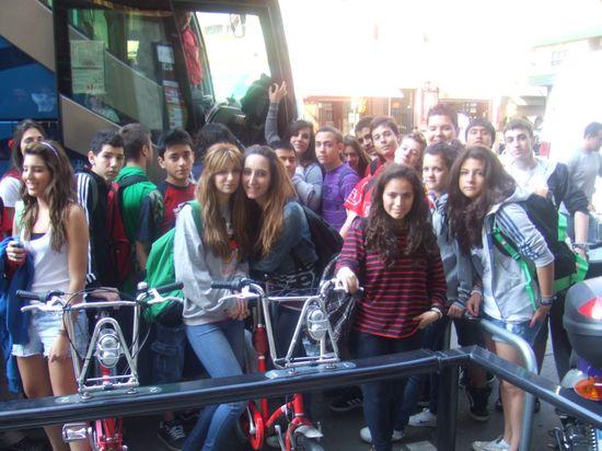 Alumnos de ESO listos para emprender un viaje