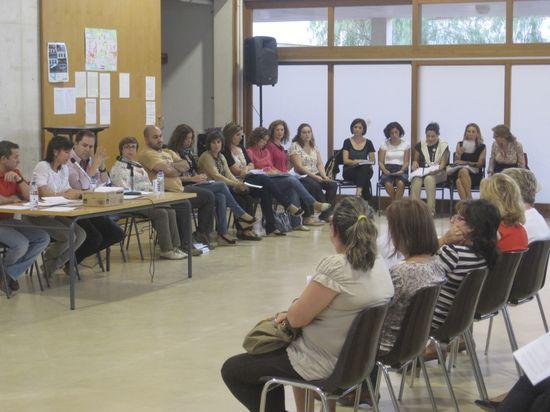Reunión en un centro escolar 2