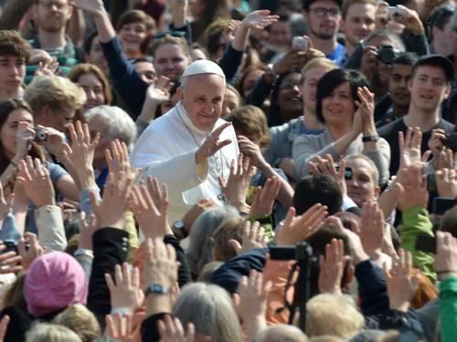 Papa Francisco entre la gente