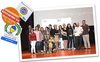 Premios conseguidos por la experiencia recogida en Blog de Tecnología de Nivel II del CEPA del Distrito Centro de Madrid