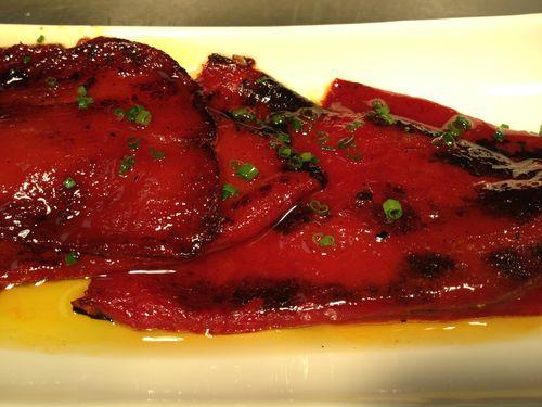 Pimientos del piquillo de Manzanilla, uno de los superventas del restaurante