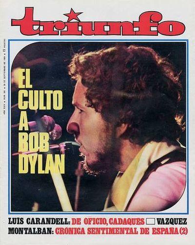 Bob Dylan en Triunfo