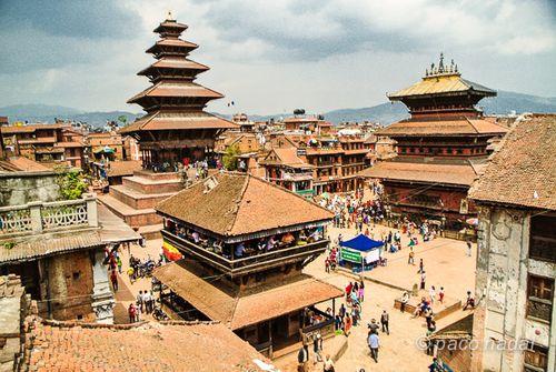 Bhaktapur aerea