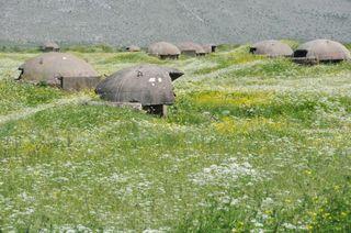 Bunkers-northern-albania