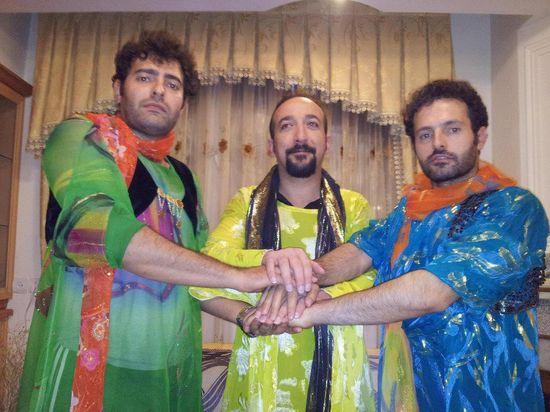 Three-Kurd-men