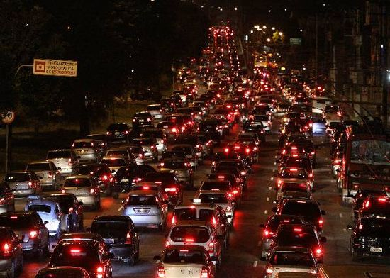 Transito en São Paulo