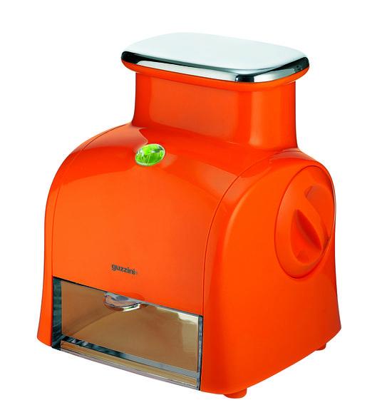 Guzzini Rallador eléctrico naranja