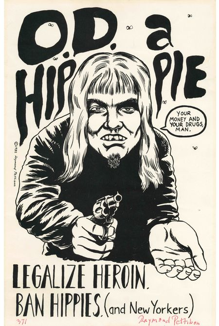 Legalize heroin. Ban hippies.