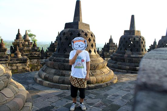 Pablo Bear en Indonesia