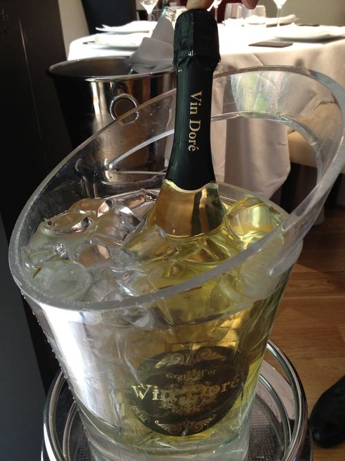 Botella de Vin Doré