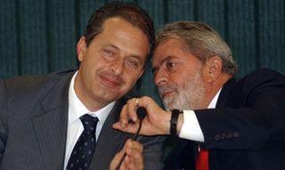 Eduardo Campos y Lula