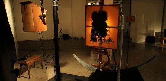 Detalle de la instalación El Estudio de Juan Rey