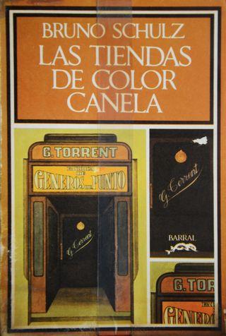 Portada de la edición de Barral de Las tiendas de color canela