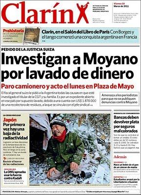 Moyano clarin