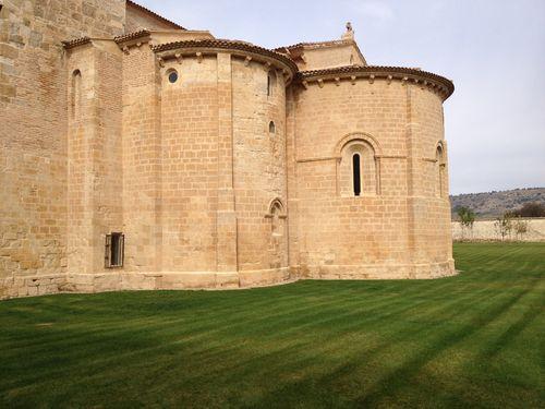 Ábsides románicos del monasterio
