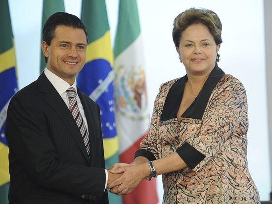 Peña y Dilma
