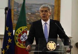 José Socrates, el 6 de abril de 2011 pide oficialmente el rescate de portugal